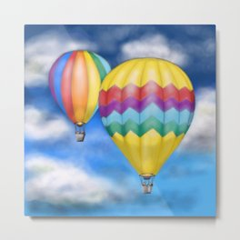 The Air Balloons Metal Print