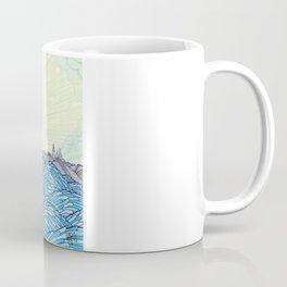 Ocean Face Coffee Mug