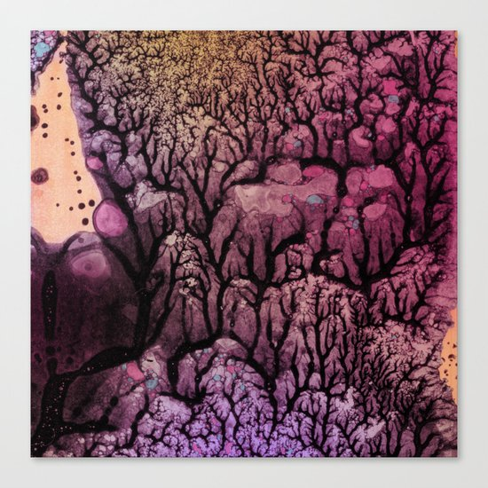 Square Stem Canvas Print