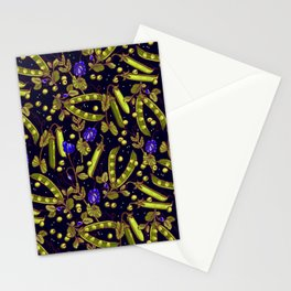 Pea garden Stationery Cards