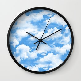 Sky's the limit. Wall Clock