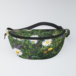 Wildflowers by the River Fanny Pack