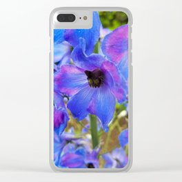 Striking petals Clear iPhone Case