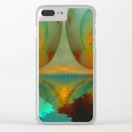 Ghosts of water ... Clear iPhone Case