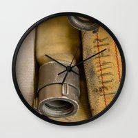 courage Wall Clocks featuring Courage by Focusonwhatmatters