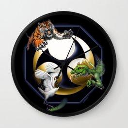 Uechi poster Wall Clock