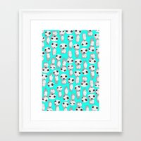 kodama Framed Art Prints featuring Kodama  by pkarnold + The Cult Print Shop