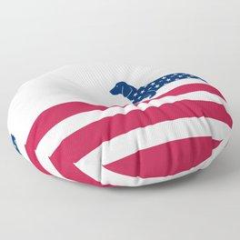Patriotic Dachshund Floor Pillow