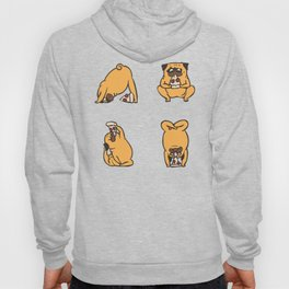 Pizza Yoga with The Pug Hoody