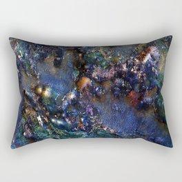 Ancient Bedrock on Mars Rectangular Pillow