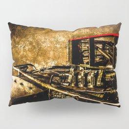 Vintage Steam Engine Locomotive - Commanding Heights Pillow Sham