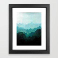 Mists No. 2 Framed Art Print
