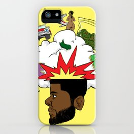 Scatterbrain with a Chance of Showers iPhone Case