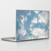 clouds Laptop & iPad Skins featuring Clouds by Rebekah Joan