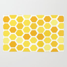 Beehive Pattern by Friztin Rug