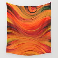 fabric Wall Tapestries featuring fabric by Cool-Sketch-Len
