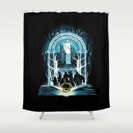 Magic Ring Shower Curtain
