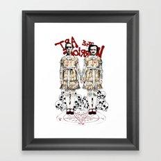 Evil Twins Framed Art Print