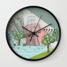 atmosphere 10 · Storm is comming Wall Clock