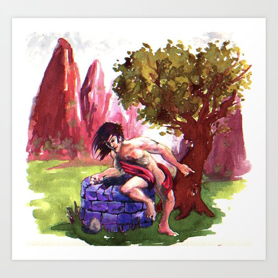 Narcisus Art Print