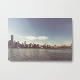 Manhattan Skyline | New York City Metal Print