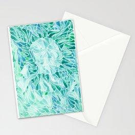 FERNING: Aqua ferns (2015) Stationery Cards