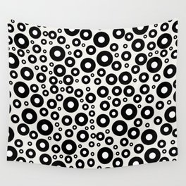Blueberries with Milk Wall Tapestry