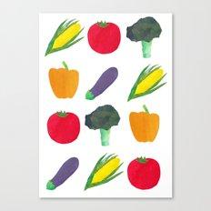 Veggies! Canvas Print