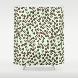 Flow .coffee Shower Curtain