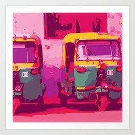 Rikshaw Art Print