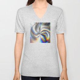 Mystical Hologram Design Unisex V-Neck
