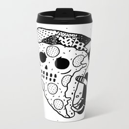 Pepperoni grab Metal Travel Mug