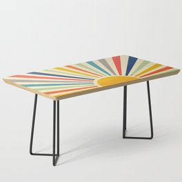 Sun Retro Art III Coffee Table