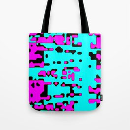 jitter, violet and blue 7 Tote Bag