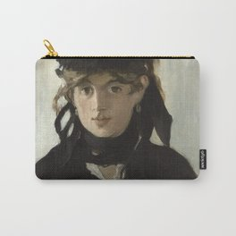 Edouard Manet - Berthe Morisot With A Bouquet Of Violets Carry-All Pouch