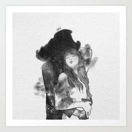 Let me feel you around. Art Print