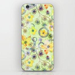 Flower waltz. iPhone Skin