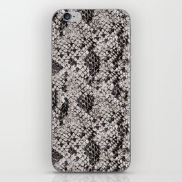 Black and Gray Snake Skin iPhone Skin