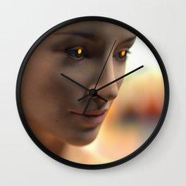 Day 0824 /// Less human than human Wall Clock