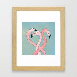 Flamingo Flamingo Flamingo Framed Art Print