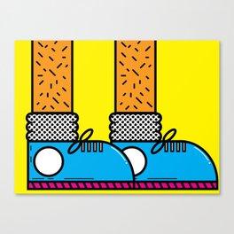 Shoe Game Canvas Print