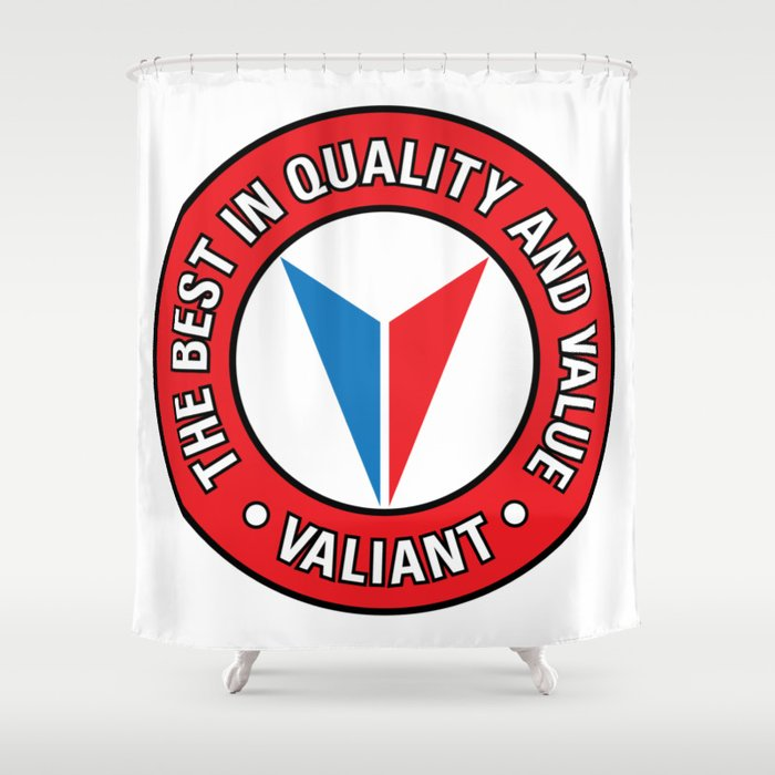 Valiant - Quality and Value Shower Curtain