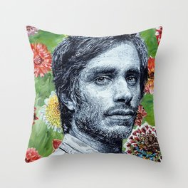 Gael Garcia Bernal Throw Pillow