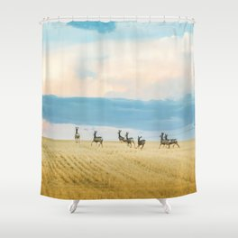 Goodbye Summer Shower Curtain