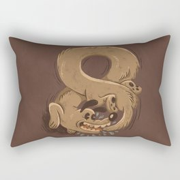 Chase Your Tail Forever Rectangular Pillow