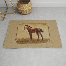 Bay Quarter Horse Foal Rug