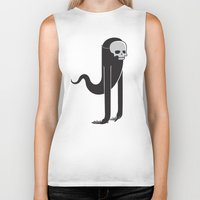 ghost Biker Tanks featuring Ghost by parallelish
