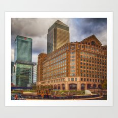 Canary Wharf London Art Print