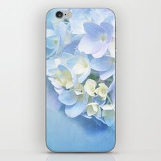 BLUE HYDRANGEA LOVE iPhone & iPod Skin