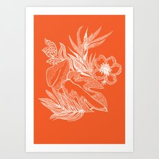Hawaiian-Spring  Art Print